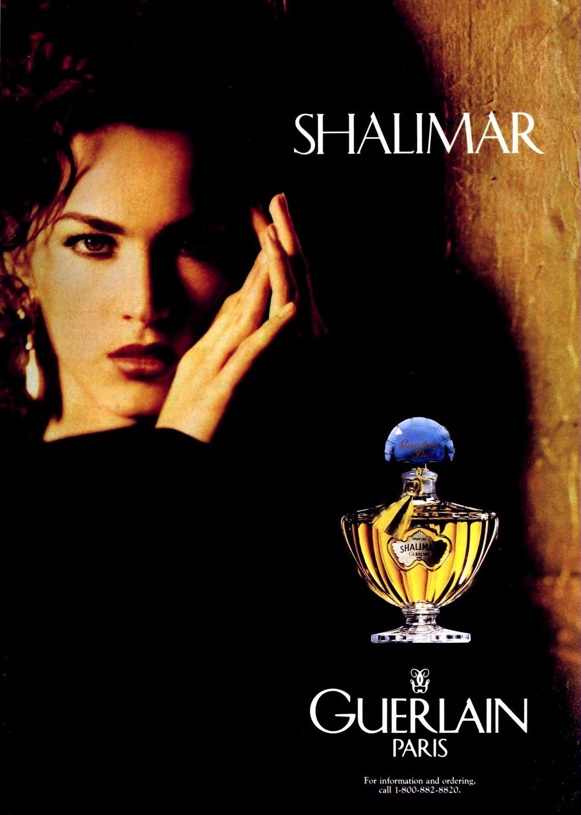 Popular vintage perfumes from the '90s - Shalimar from Guerlain Paris (1991) at ClickAmericana.com