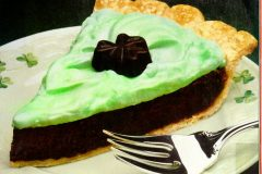 Shamrock silk pie recipe 1986 (3)