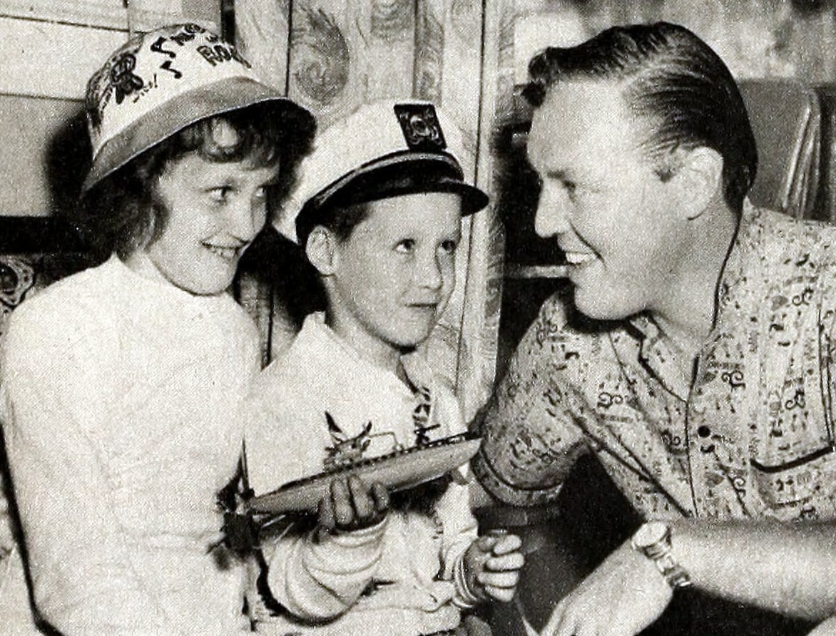 Sharon Ann and Jackie - Bill Haley's first two children