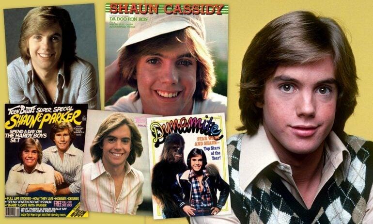 Shaun Cassidy collage 1977