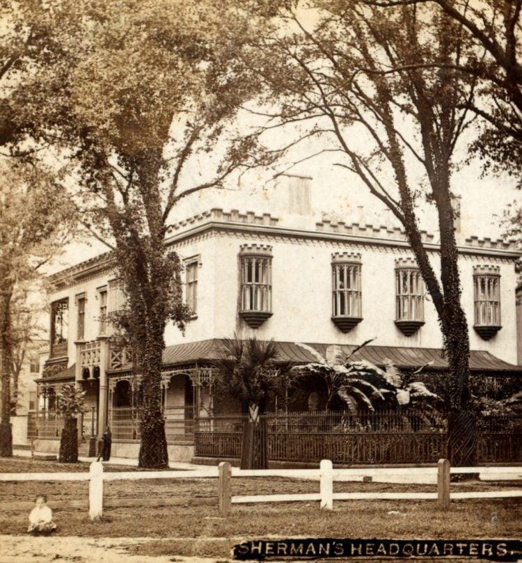 Sherman's military headquarters