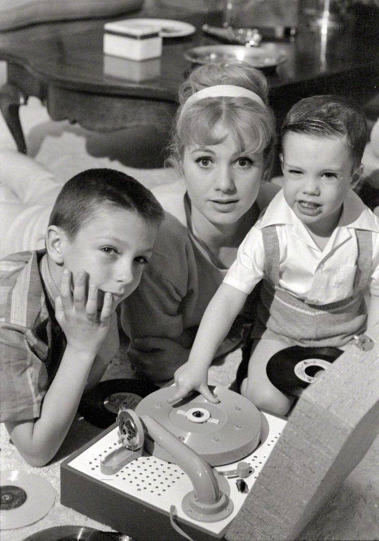 David Cassidy, Shirley Jones and Shaun Cassidy (1961)