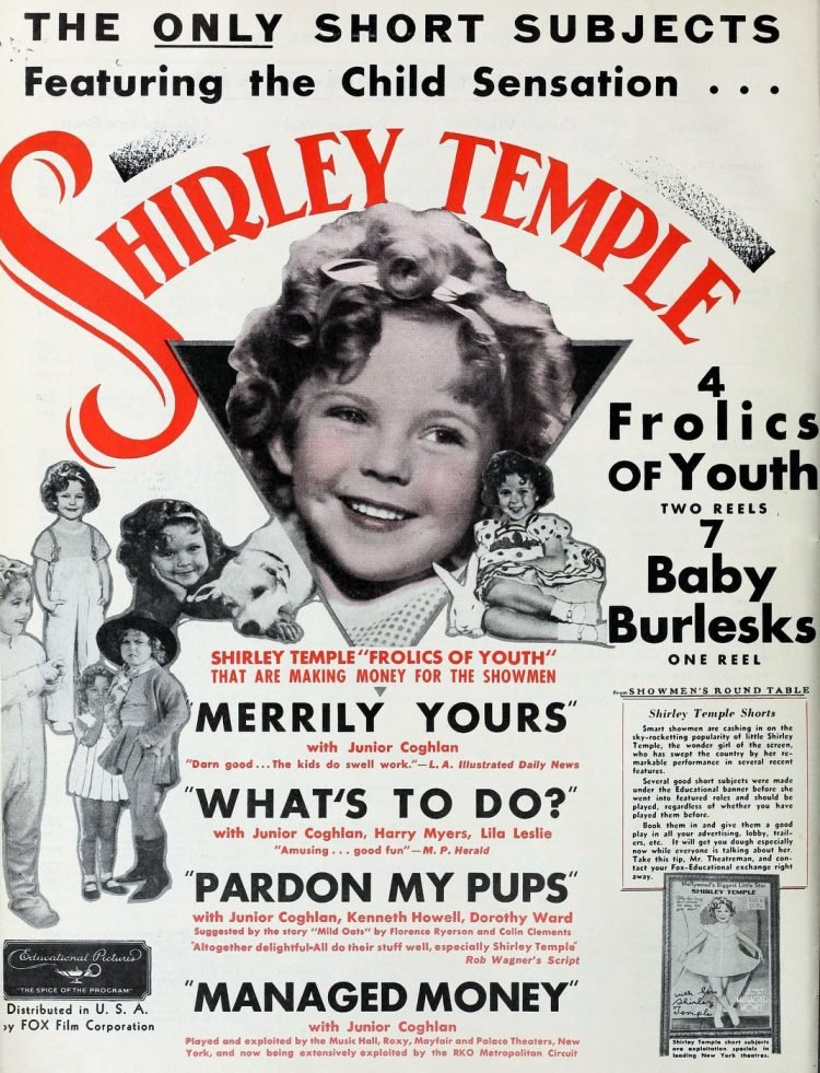 Shirley Temple short films from 1934