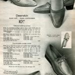 Vintage low-heeled deerskin shoes for women - walking pumps and wedge shoes