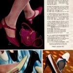 Exciting colorful vintage patent leather shoes for women - For young moderns