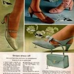 Vintage strappy heels for women - leather and patent leather