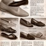 Shoes for women from the 1968 Wards catalog (26)