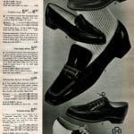 Penny mocs and loafters, vintage Oxfords for ladies and saddle shoes in black and white