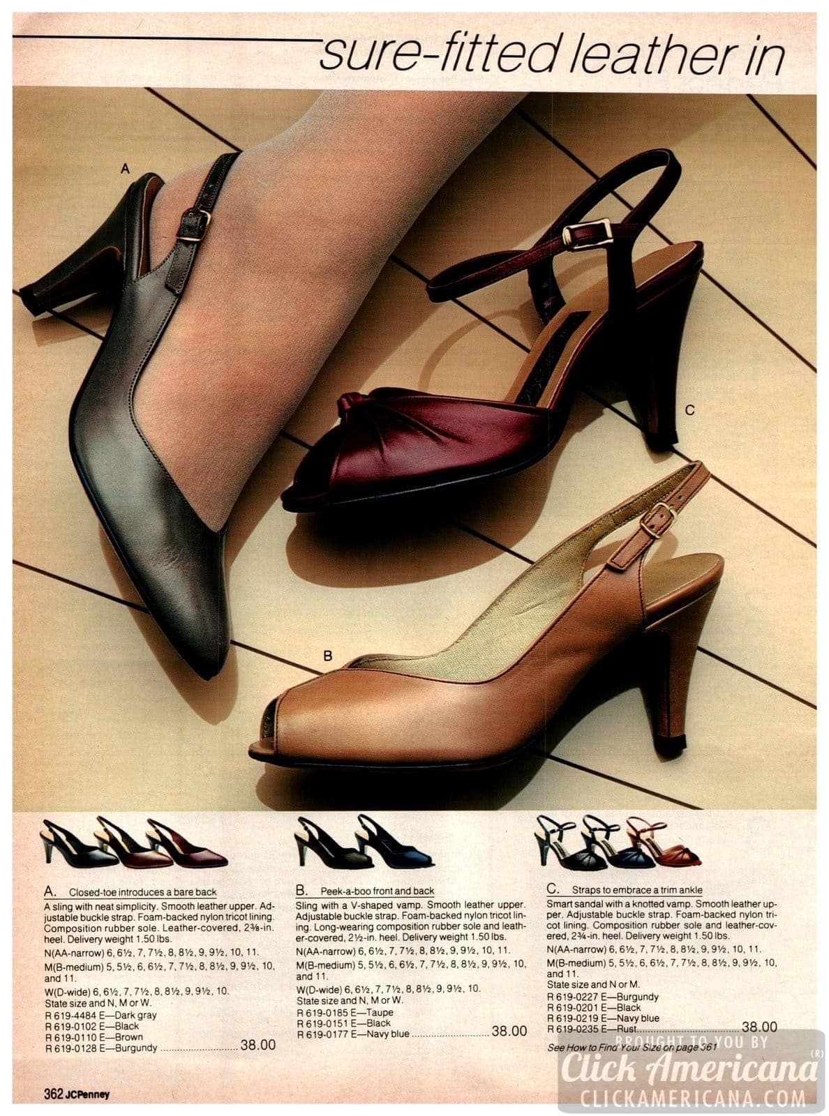 Closed-toe bare back pumps for women, peek-a-boo slings and sandals with knotted vamp