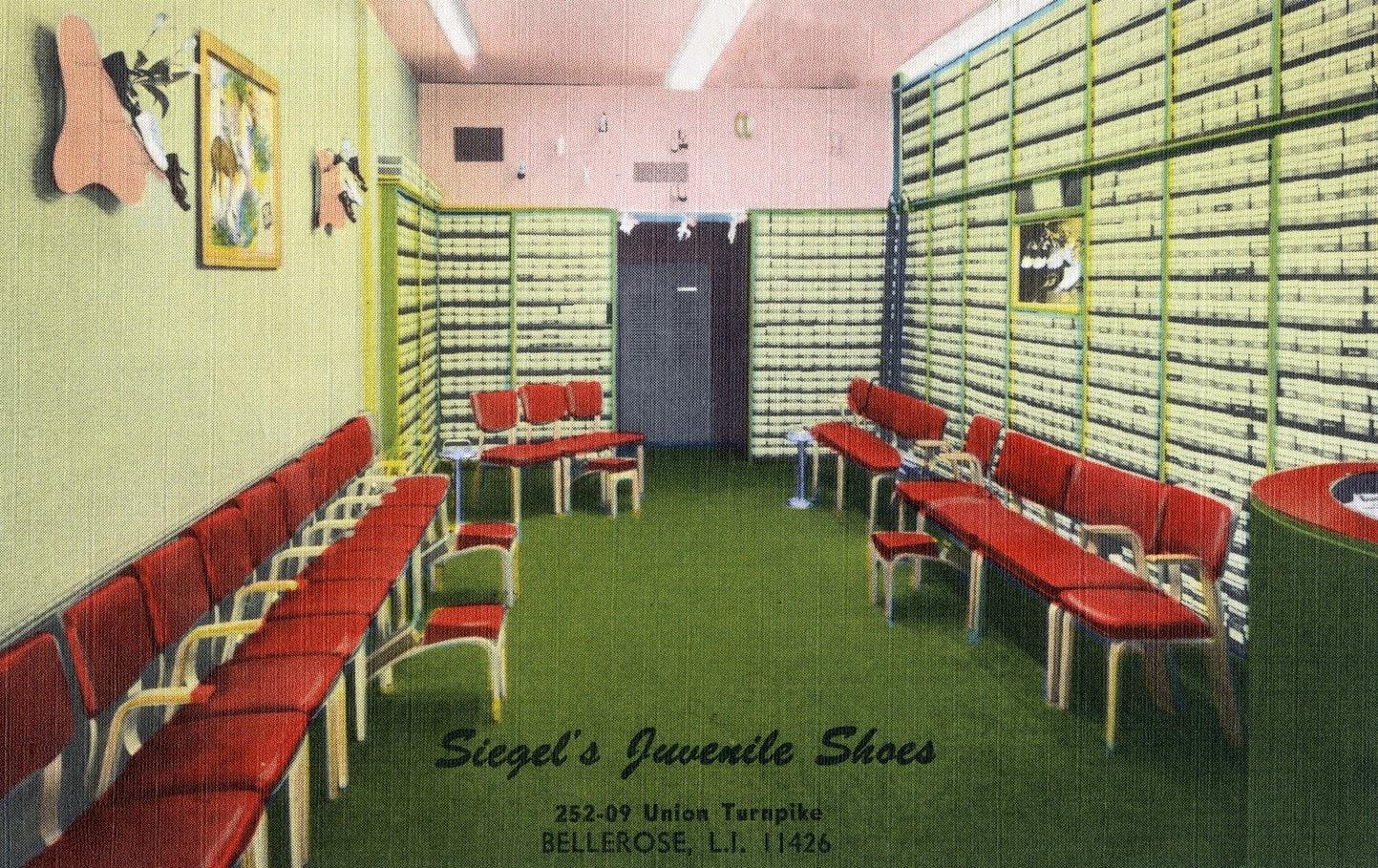 Sigel's Juvenile Shoes - Long Island, New York (1940s)