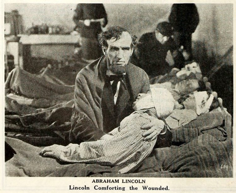 Silent film Dramatic Life of Abraham Lincoln 1924 (2)