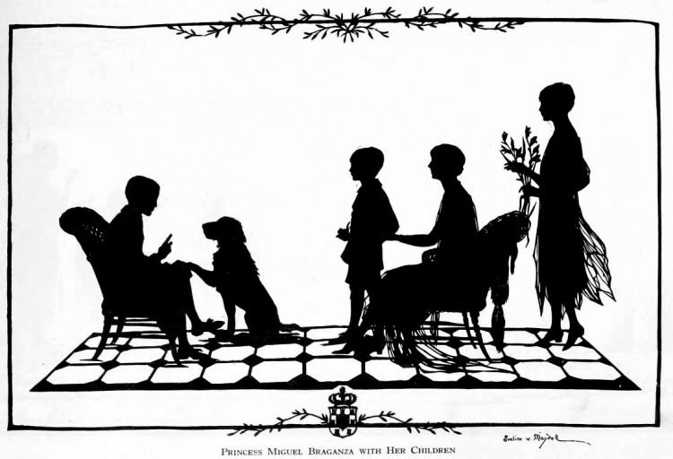 Silhouettes - portraits from the 1920s (2)
