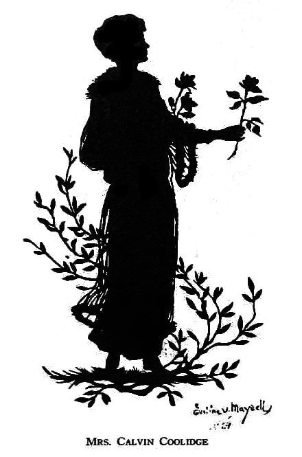 Silhouettes - portraits from the 1920s (4)