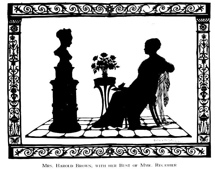 Silhouettes - portraits from the 1920s (7)