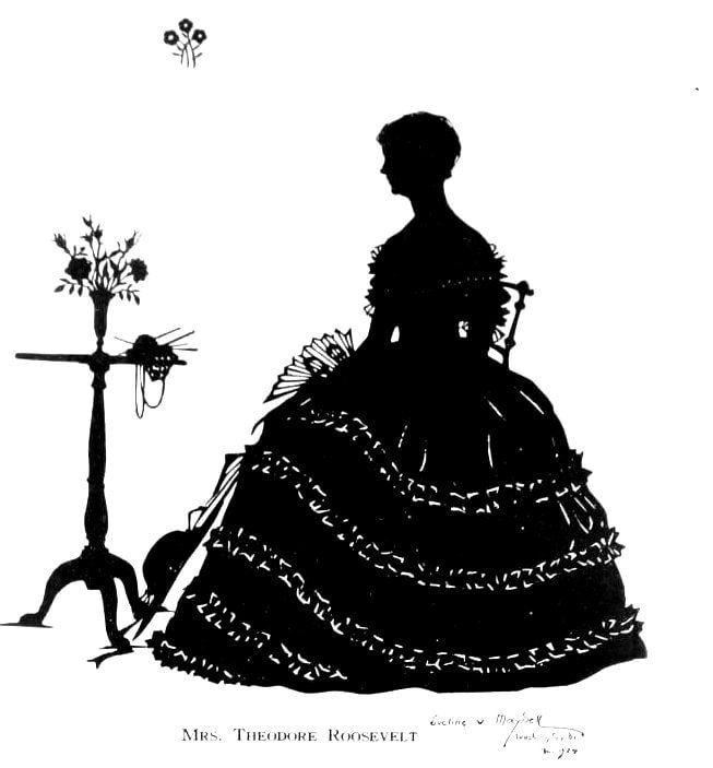 Silhouettes - portraits from the 1920s (9)
