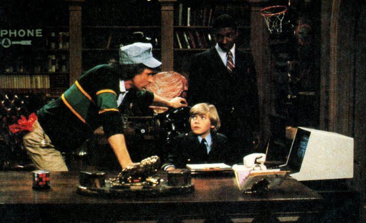 Silver Spoons TV show - Dynamite Magazine APril 1983 (1)