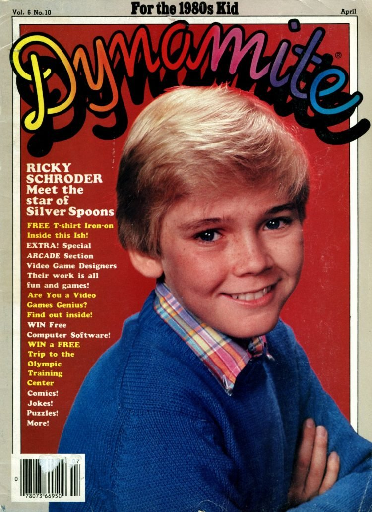 Silver Spoons TV show - Dynamite Magazine April 1983 (2)