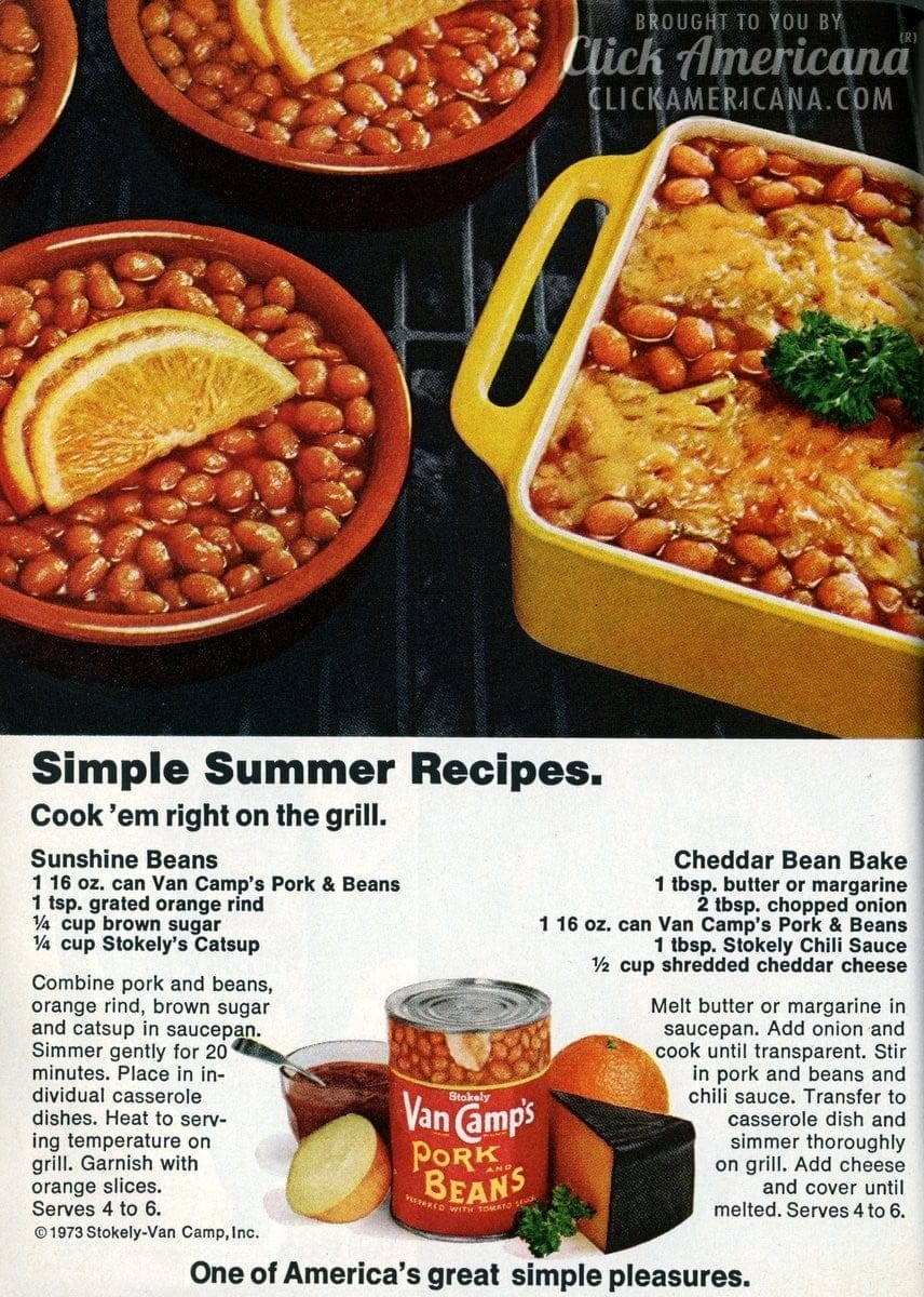Simple Summer Recipes with Pork & Beans (1973)