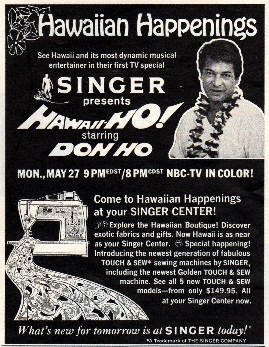 Singer Presents Hawaiian-Ho, Starring Don Ho (1968)