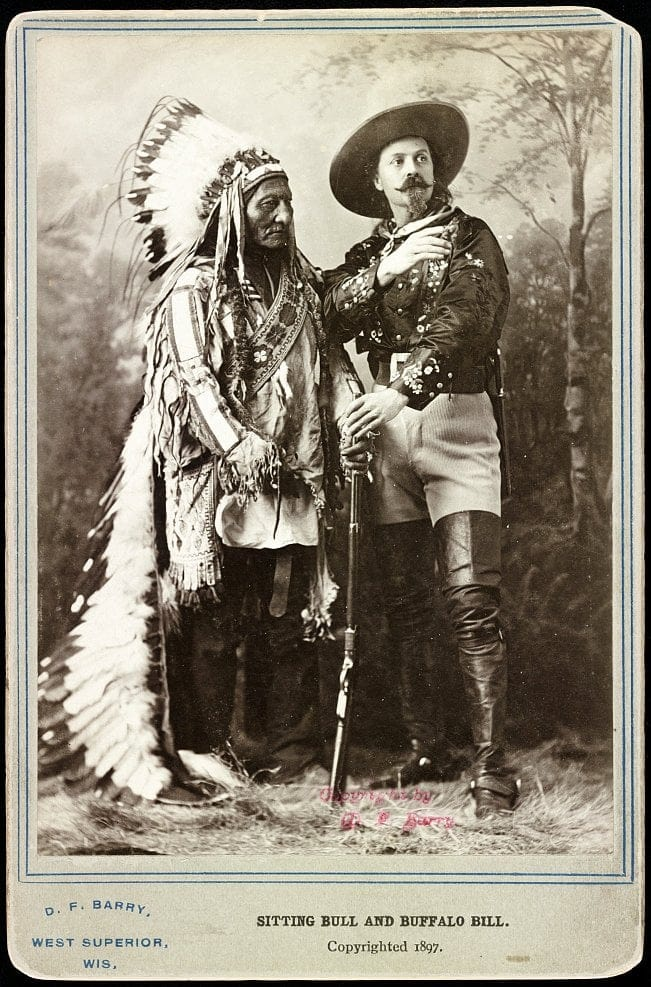 Sitting Bull and Buffalo Bill (1897)