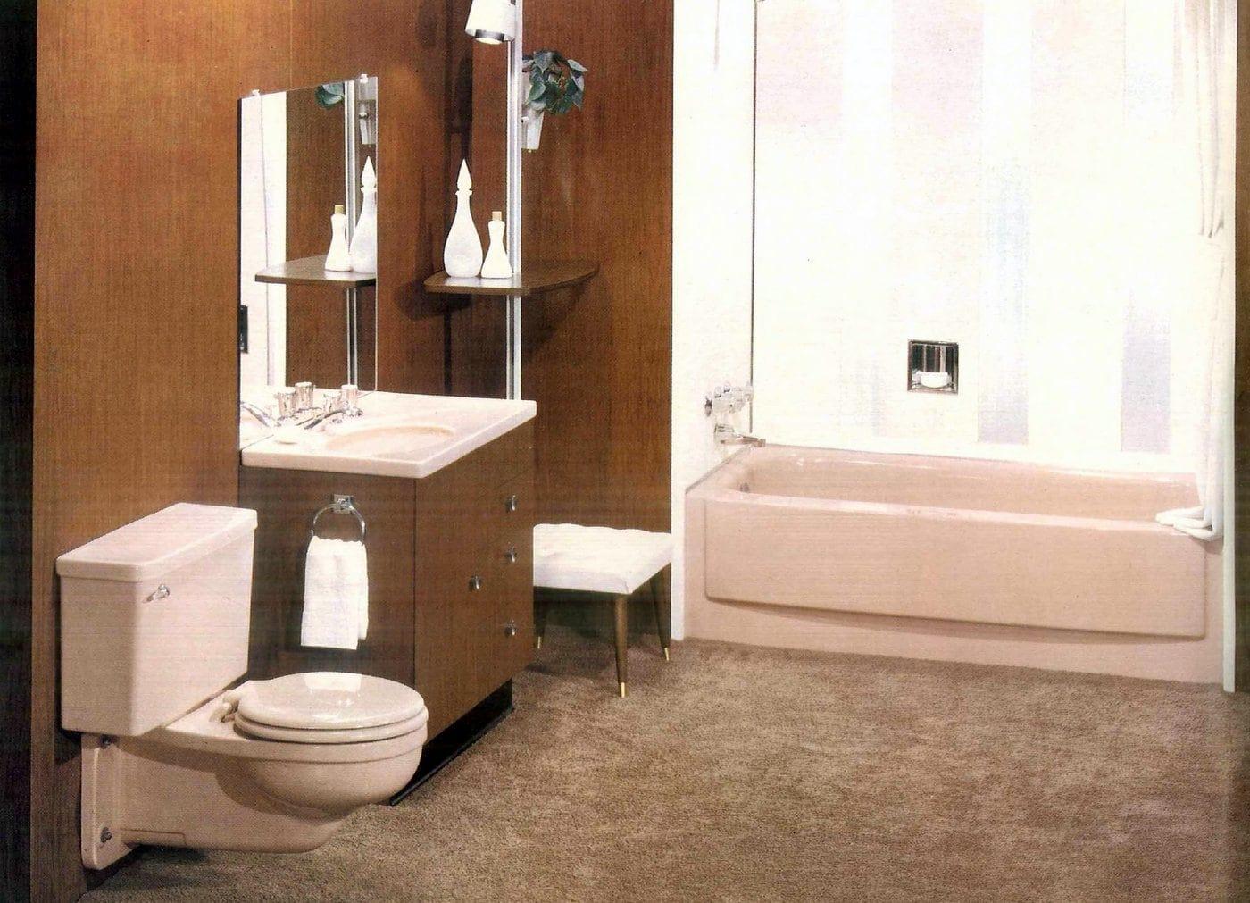 Sixties bathroom decorating ideas - 1960 (2)