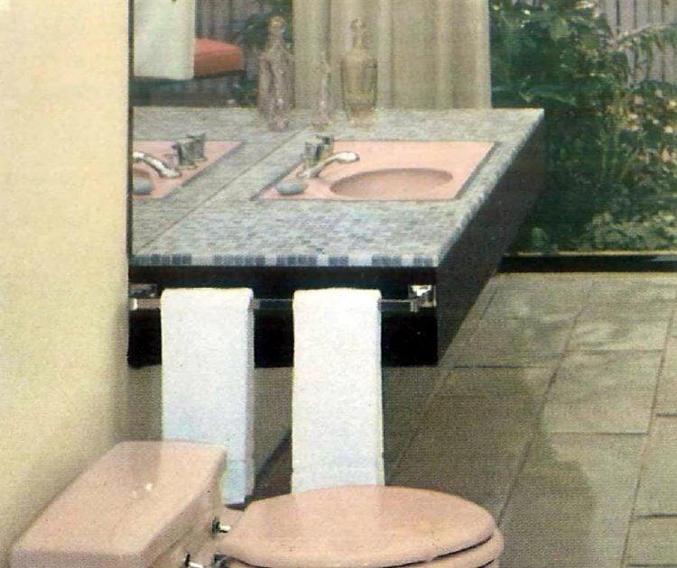 Sixties bathroom decorating ideas - 1960 (3)