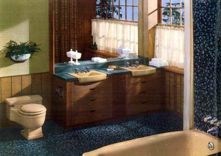 Sixties bathroom decorating ideas - 1960 (4)