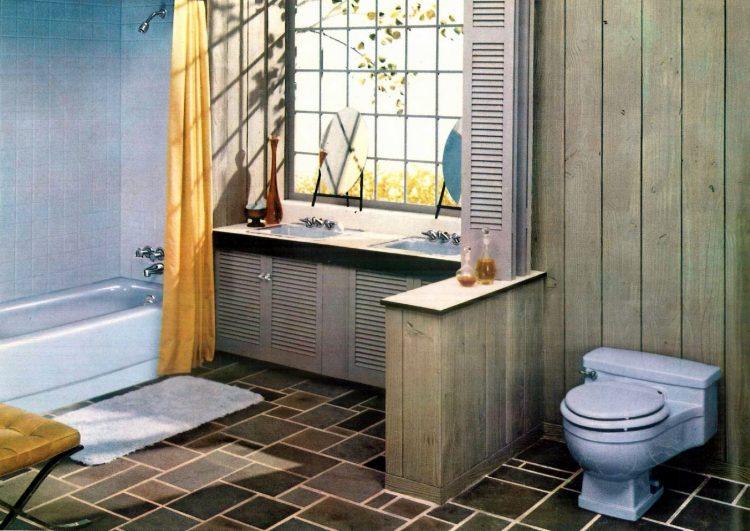 Sixties bathroom decorating ideas - 1960 (5)
