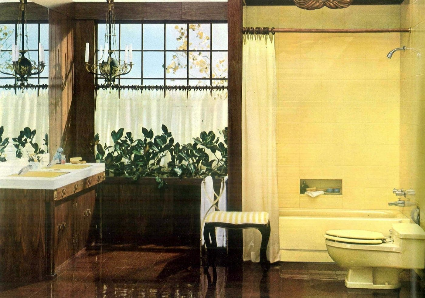 Sixties bathroom decorating ideas - 1960 (6)