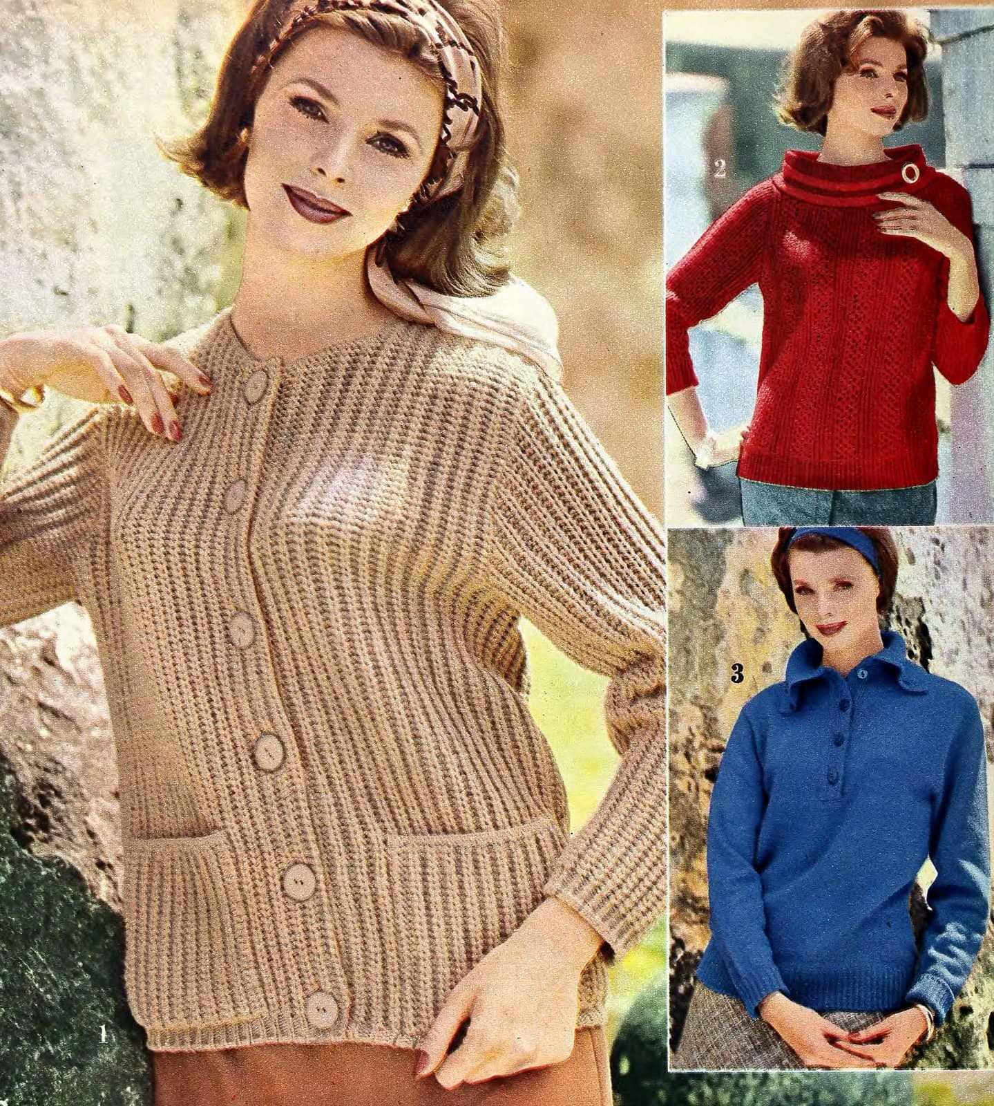 Sixties sweater styles from 1962 (4)