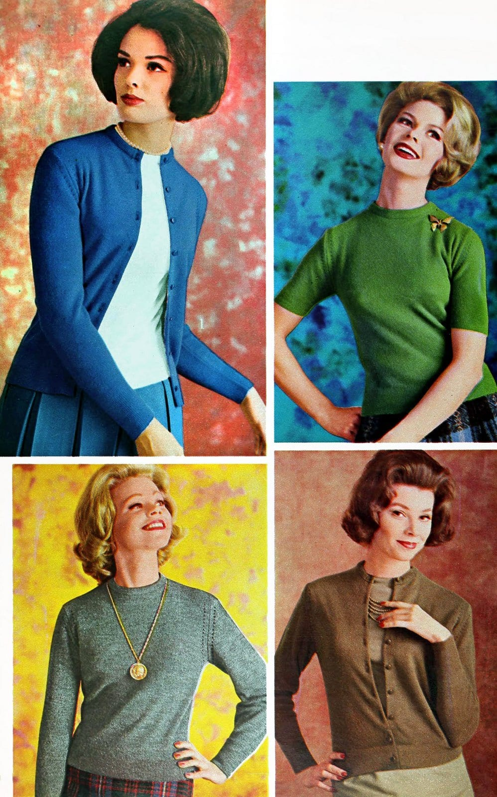 Sixties sweater styles from 1962 (5)