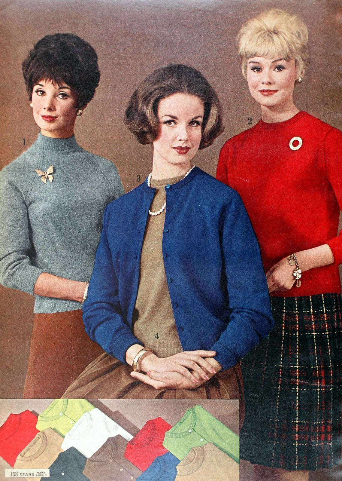 Sixties sweater styles from 1962 (6)