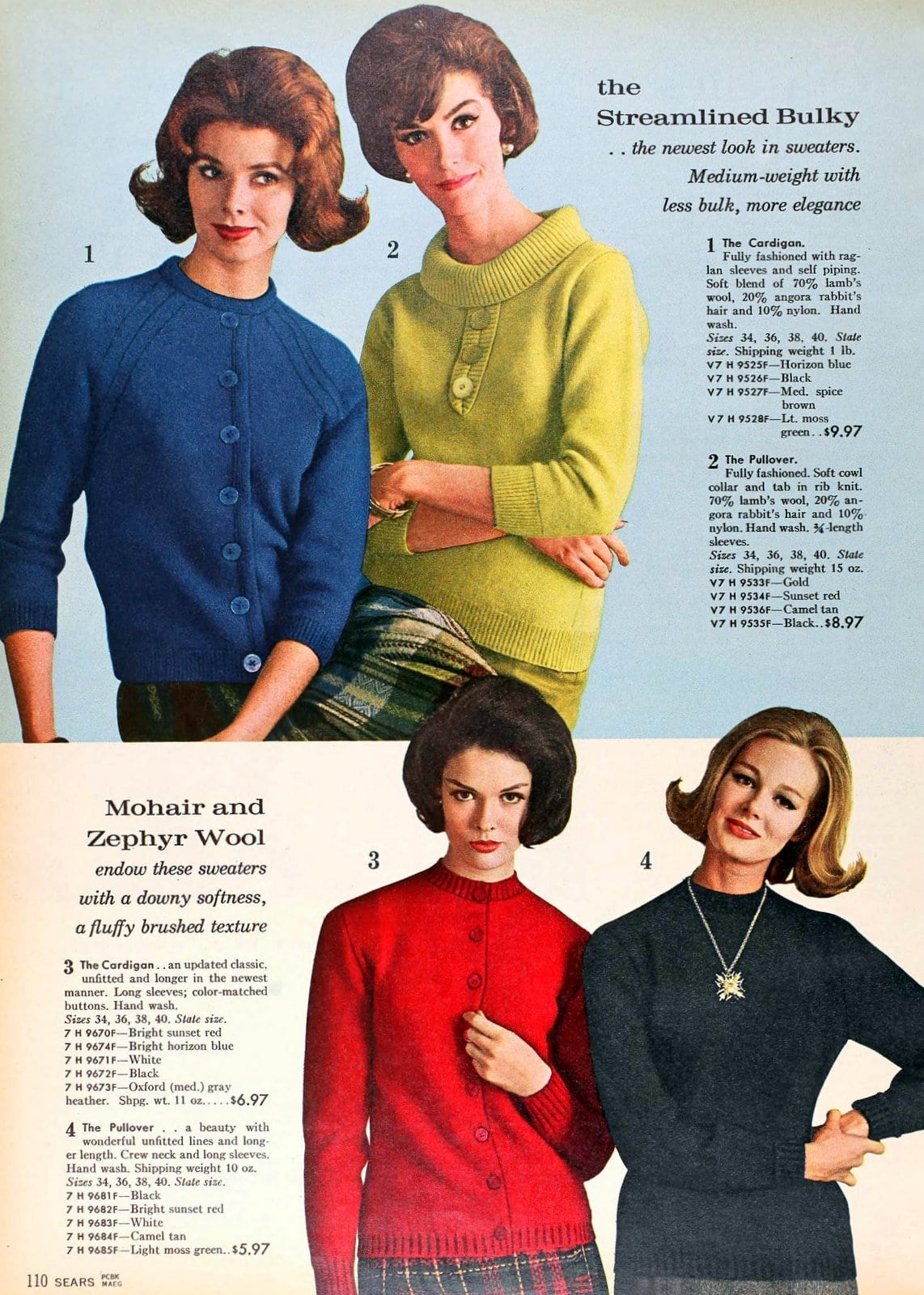 Sixties sweater styles from 1962 (7)