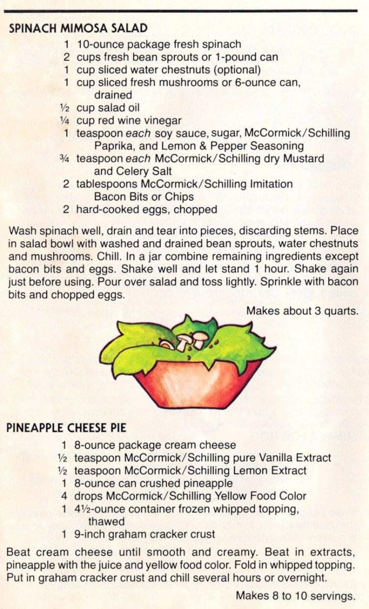Sizzle Season - Retro picnic recipes from 1979 (7)