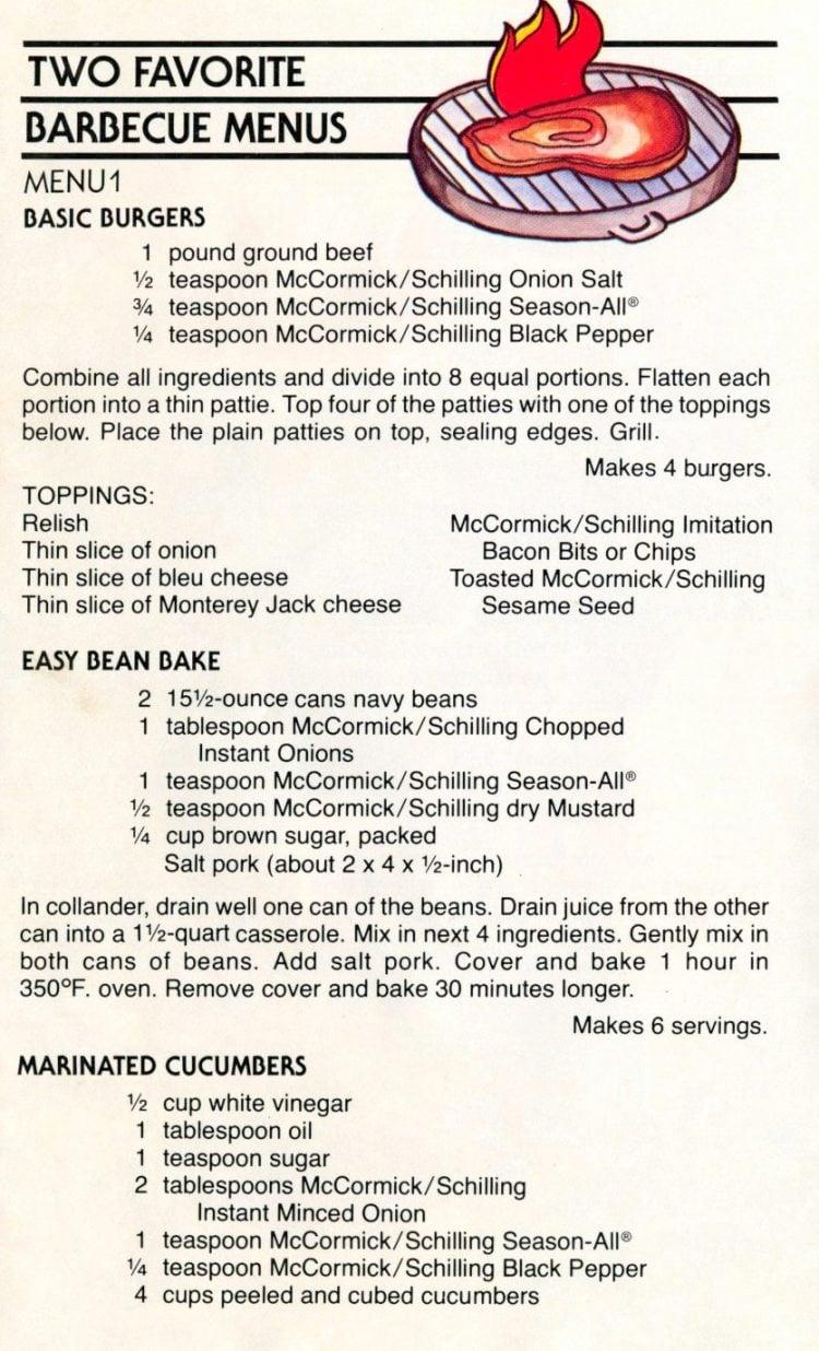 Sizzle Season - Retro picnic recipes from 1979 (8)