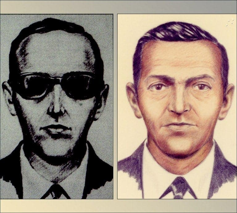 Sketches of D.B. Cooper