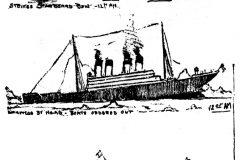 Sketches of the Titanic sinking from 1912 - Skidmore (1)