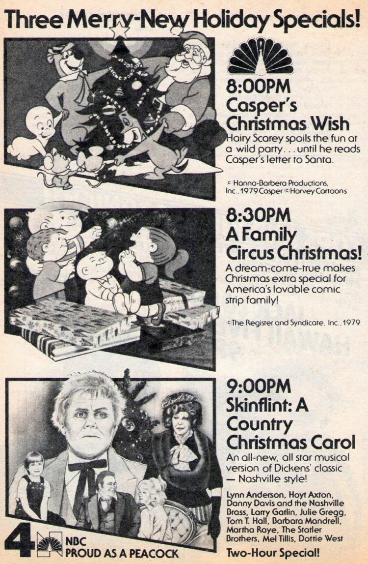 Skinflint A Country Christmas Carol and more Christmas specials from 1979
