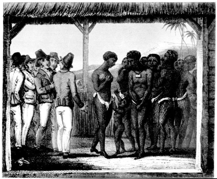 America's slave trade: People for sale (1729-1800)