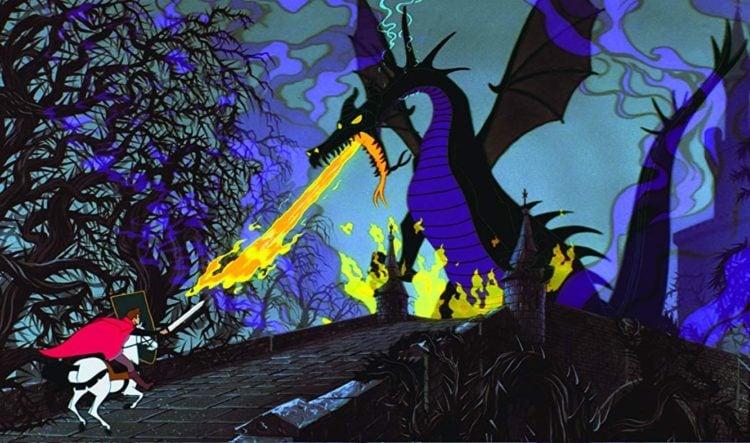 Sleeping Beauty 1959 - Dragon
