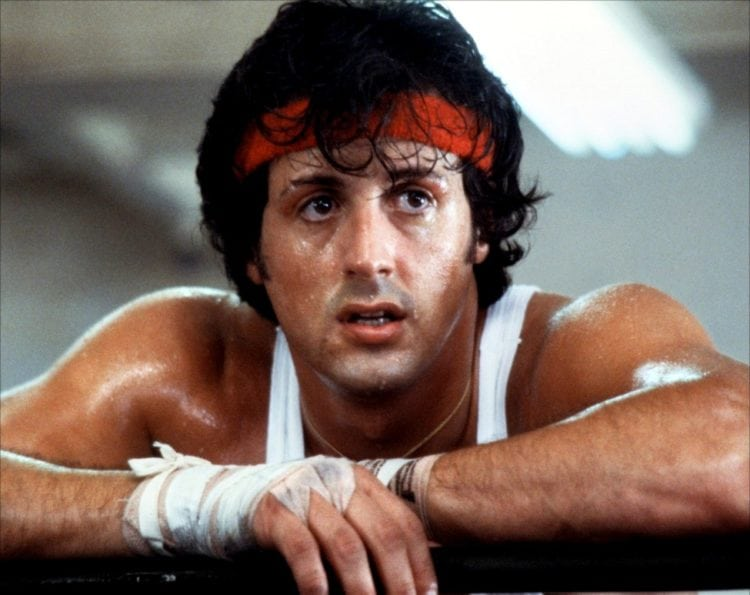 Sly Stallone in Rocky