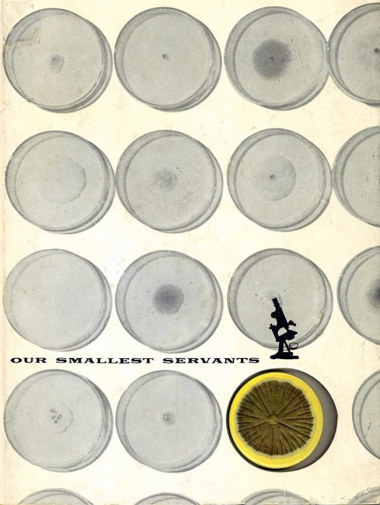 Smallest Servants book cover - molds and medicine - 1955