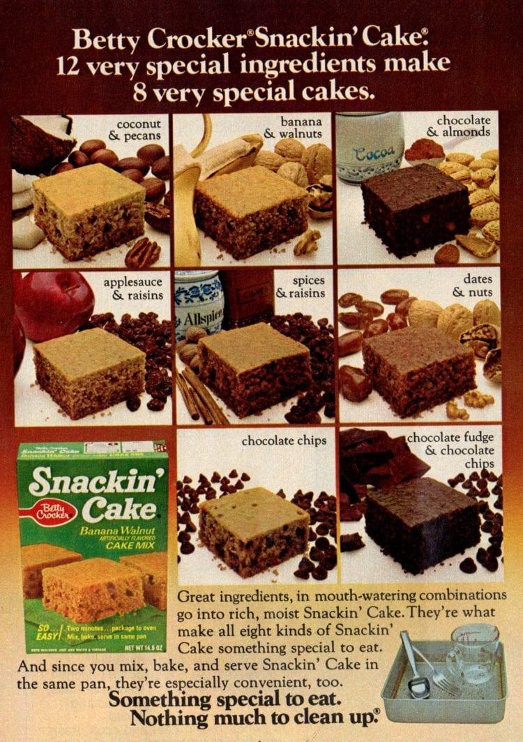 Remember Snackin Cake