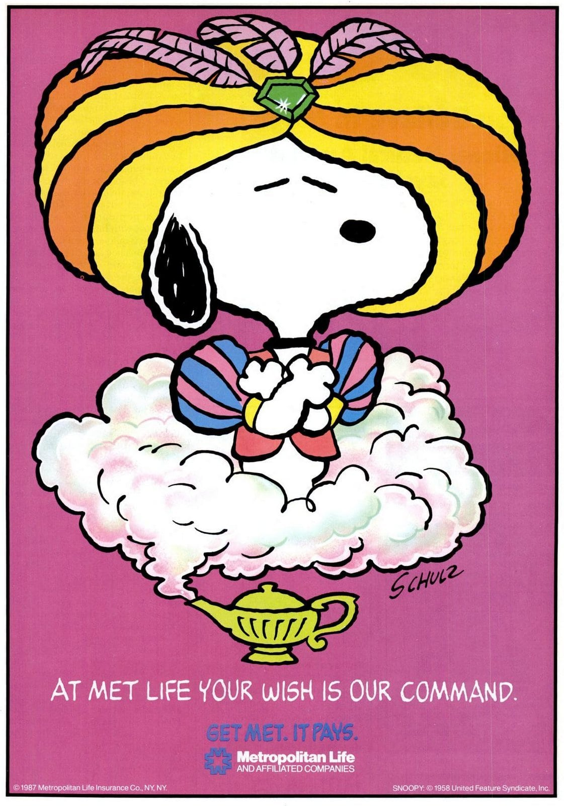 Snoopy - Peanuts for Met Life (1987)