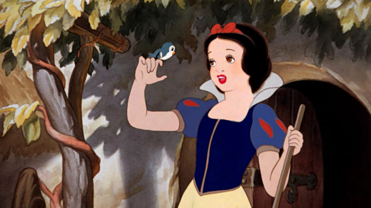 Snow White and the Seven Dwarfs Disney movie - 1938