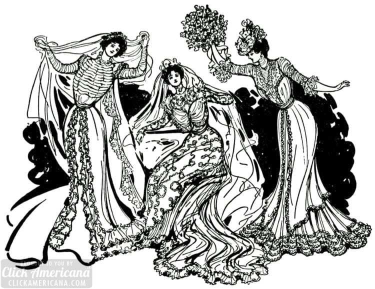 Society wedding of 1899