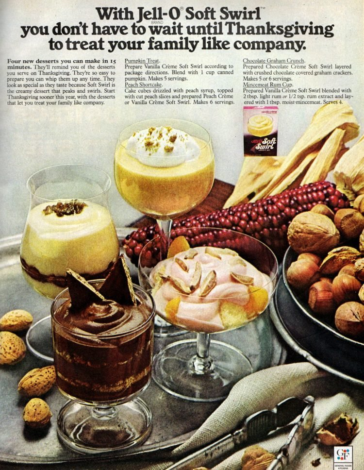 Soft Swirl dessert mix from Jello 1972 (2)