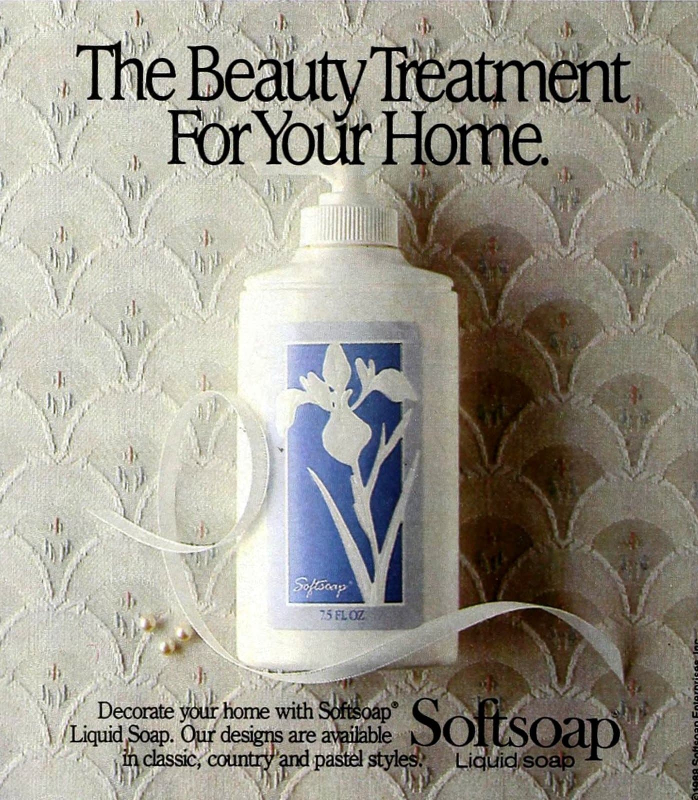 Softsoap decorator containers (1988)