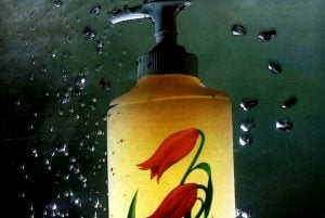 Softsoap pump soap from the 1980s