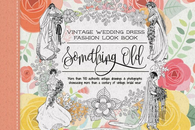 Something Old Vintage Wedding Dress Fashion Look Book cover